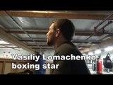 vasiliy lomachenko in camp - EsNews Boxing