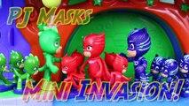PJ Masks Duplicates Romeo Evil Minis Army Attacks PJ Mask Headquarters with Blind Bag Figurines-73hqLLW