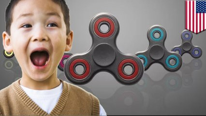 Fidget spinner craze: Fidget spinners are turning the world on its head