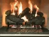 Peterson Charred Forest Oak Vented Gas Logs Video