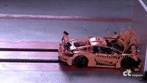 Crash Test d'une voiture Porsche en LEGO !