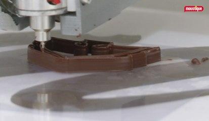 La Miam Factory, du chocolat imprimé en 3D