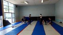Evaluation Acrosport 3ème - Rocky - Eye of the Tiger