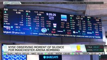 NYSE Holds Moment of Silence for Manchester Arena Bombing Victims
