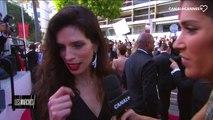 """Maïwenn """"C'est génial de pouvoir approcher ces réalisateurs et de parler cinéma""""- Festival de Cannes 2017"""