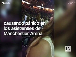 Explosión en el concierto de Ariana Grande