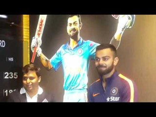विराट के नाम पर  बनी दीवाल॥ Virat Kohli Cricketer   Daily News Express