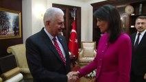 Başbakan Yıldırım, ABD Birleşmiş Milletler Daimi Temsilcisi Haley'i Kabul Etti