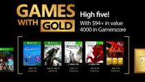 XBOX Games with Gold Official Trailer (June 2017)