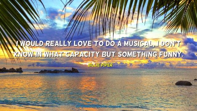 Billie Piper Quotes