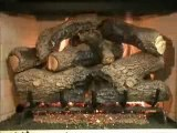 Peterson Charred Royal English Oak Vented Gas Logs Video