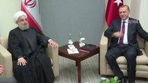 Cumhurbaşkanı Erdoğan, İran Cumhurbaşkanı Ruhani ile görüştü / 21 09 2016 / WASHİNGTON