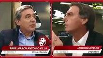 Jair Bolsonaro desmente jornalista