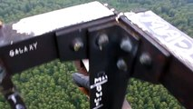 Most SHOCKING Video Ever - Seconds from Fall to Death (Ground 100s Meters Below) - Sky
