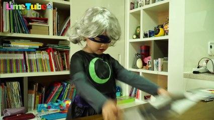 #Let's Vote Luna Girl's Attack in Presidential Election! PJ Masks Catboy Transform & Toy #투표해요 루나걸의 습격 대통령 선거를 막아라!