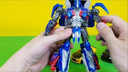 Transformers 5  The Last Knight Berserker car Toys 트랜스포머5 최후의기사 범블비 옵티머스프라임 바리케이드 버서커 변신로봇 장난감