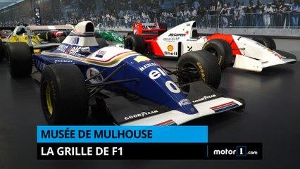 Musée de Mulhouse - La grille de F1