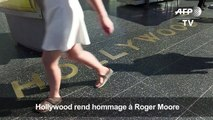 Hollywood rend hommage à Roger Moore