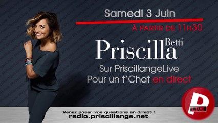 Chat avec Priscilla - Publicité - 03/06/2017
