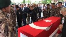 Samsun Özel Harekat Polisi Mesut Yılmaz, Memleketi Samsun' da Son Yolculuğuna Uğurlandı