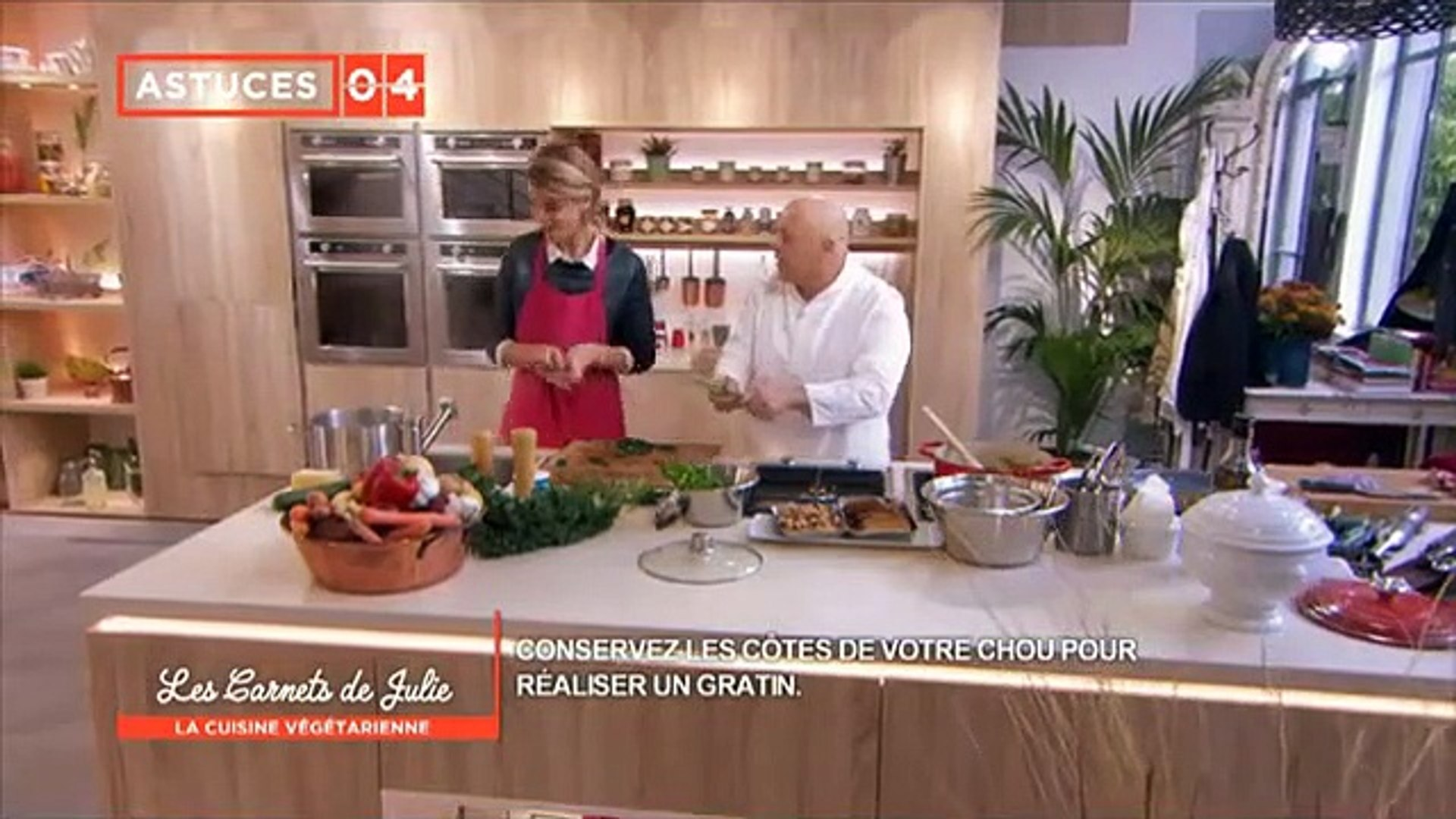 Cuisine Vegetarienne Les Carnets De Julie G10 U1bjkfw Video