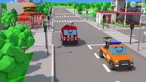 COLOR Tow Truck Cartoon for kids with Cars for babies! | Autos für Kinder | Машинки для детей