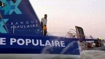 Vendée Globe  - Armel Le Cléac'h accueilli en héros aux Sable