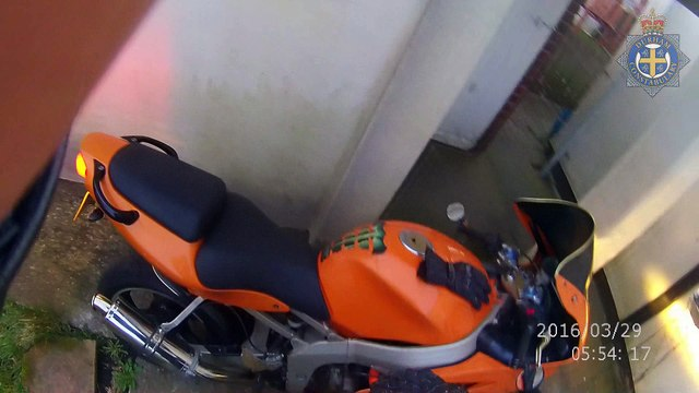 Footage of fatal motorcycle collision released to urge drivers to be more careful
