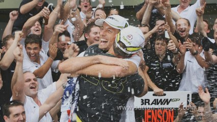 The last course of the gentleman Jenson Button