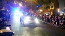 Sài Gòn tối ngày 24/05/2016: Đoàn xe tổng thống Obama trên đường phố Sài Gòn