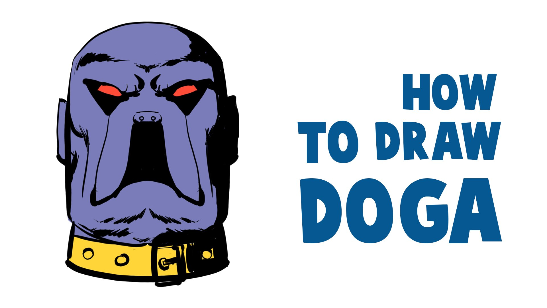 How To Draw Doga | Raj Comics Superhero Character In krita | Mirror Modifier