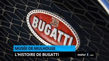 Musée de Mulhouse - L'histoire de Bugatti !