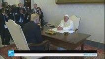 ترامب في يلتقي البابا فرنسيس