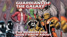 Guardians of The Galaxy and Their Famous Friends