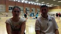 L'interview du Levallois Sporting Club : le handibad avec Laureen !