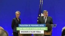 Alain Vidalies, discours lors de la passation de pouvoirs