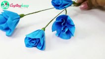 How to Make Paper Flod Paper Roses DIY Easy Tutorial