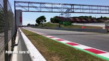 Wednesday MotoGP test action from Barcelona