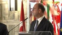 Bakan Çavuşoğlu, İtalya Dışişleri Bakanı Alfano ile Bir Araya Geldi- Dışişleri Bakanı Mevlüt...