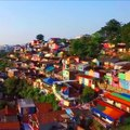 This small village in Indonesia is a technicolor dream. [Mic Archives]