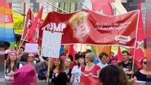 Trump a Bruxelles: corteo contro il presidente statunitense nella capitale belga