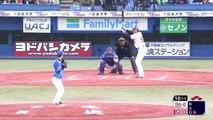 ヤクルト鵜久森 サヨナラ満塁ホームラン!