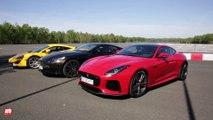 Les meilleurs sportives anglaises [ESSAI] : DB11 vs 540C vs F-Type SVR