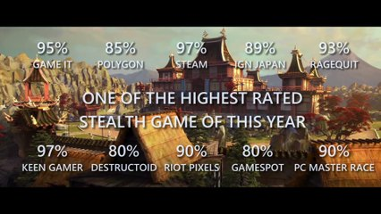 Shadow Tactics Blades of the Shogun (reviews and scores) de Shadow Tactics : Blades of the Shogun