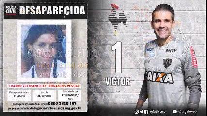 SENSACIONAL! Atlético-MG divulga escalação com apelo por crianças desaparecidas no Brasil