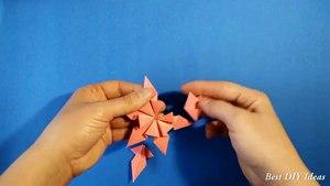 Easy Origami for Kids - Paper Bo r Craft Idea for Ki