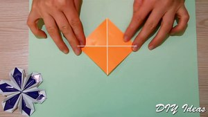 Easy Origami for Kids - Paper Bo aper Craft Idea for Kids