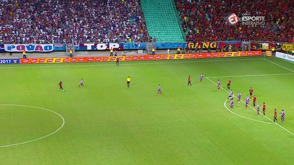 TRICAMPEÃO! Os segundos finais da partida que deu o título da Copa do Nordeste ao Bahia