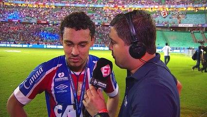 Autor do gol do título, Edigar Junio explica lance em que driblou Durval