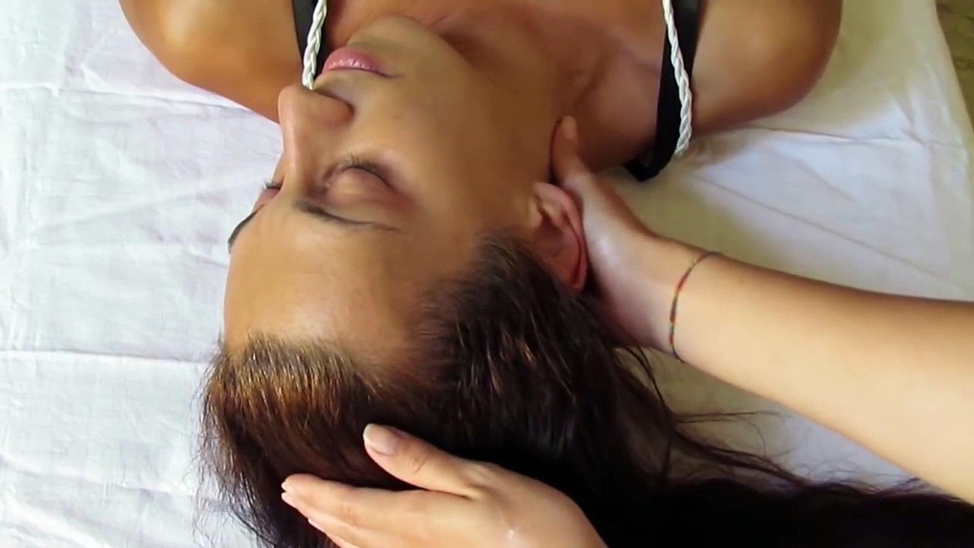 Relaxing Face Massage (No Music) ASMR